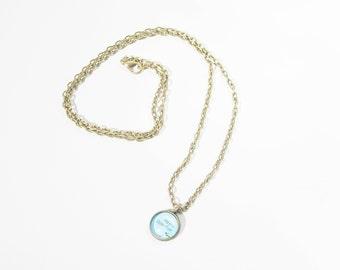 Custom Map Charm Necklace