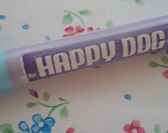 Happy Dog 80s Pencil. Very Cute