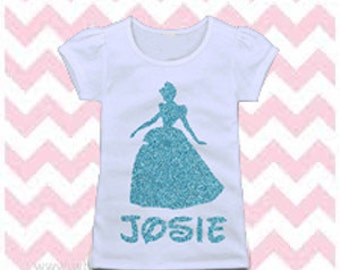 Cinderella shirt. Disney Princess Shirt, Custom Disney Shirt.
