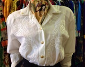 Vintage Escada Buttondown Blouse