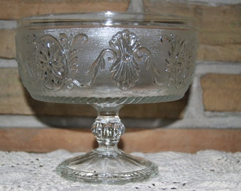 Sandwich Glass Compote by Indiana Glass Co.