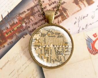 Fleet Street - London Necklace