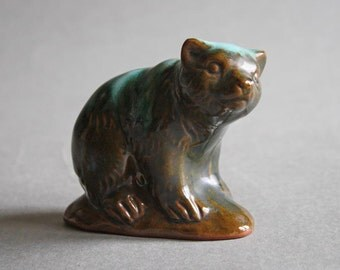 """Vintage"""" Blue Mountain Pottery of Canada"""" Bear"""