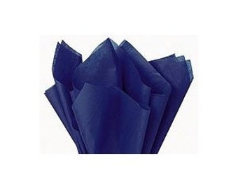 120 sheets of tissue paper -- BLUE