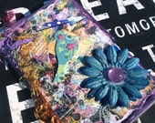"""Mixed Media July 2013-December 2014 Academic Weekly Planner and Art Piece: """"My Way"""" Approx. 7 x 4.25"""""""