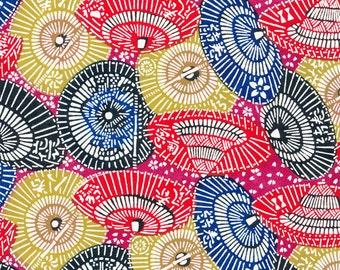 Japanese Katazome Paper - Parasol design