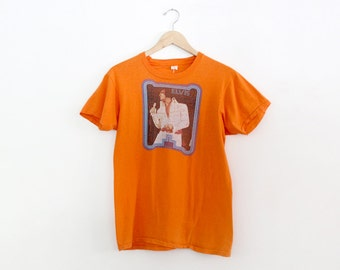 1970s Elvis Presely t-shirt, vintage iron on tee