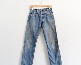 vintage Levi's 501 denim jeans, waist 29