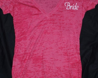 Bride Shirt - Great Gift for a Shower or Bachelorette Party CLEARANCE
