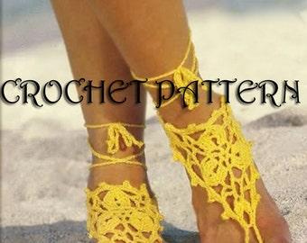 Crochet pattern barefoot in PDF