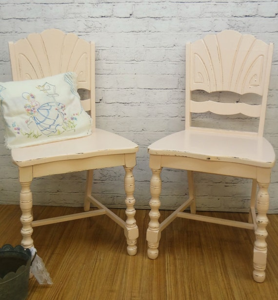 lovely shabby chic office chairs