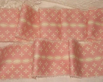 Vintage Rose Ribbon Shabby Chic Country Rose French Market Inspired Hand Distressed Ribbon VR002