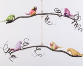 Ruby Collection - Single or Double Tier Bird Mobile
