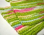 Sour Apple Blue Dishcloths (set of 2)