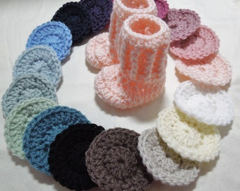 Baby Booties, Newborn booties, High top booties, Baby Shoes, Choose size and color.