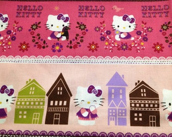 Hello kitty cotton fabric One yard  new item