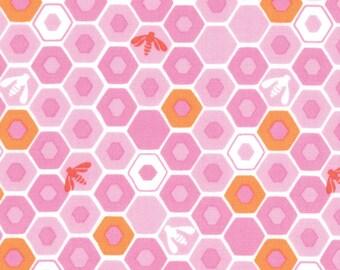 Moda Honey Honey Blush Apiary by Kate Spain - 27147-12 quilting fabric cotton