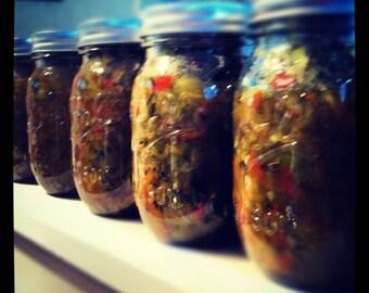 Handmade The Famous Hot Dog Girls Zucchini Relish