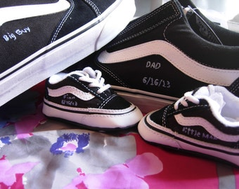 Father's Day Custom Shoes Converse/Toms/Vans