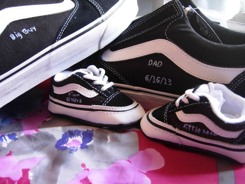Baby Custom Shoes Converse Toms Vans