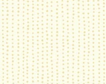 "5"" Apple Cider Cream Stripe Dots by P & B Textiles"
