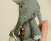 """Elephant """"Mityunya"""" OOAK 5.6 inches"""