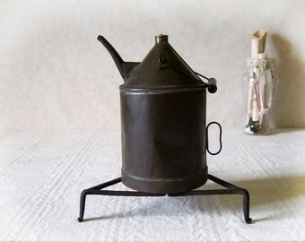 Oil Lamp Can French Oil Watering Can Rustic Country decor