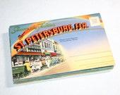 6 Vintage Florida Souvenir Folders