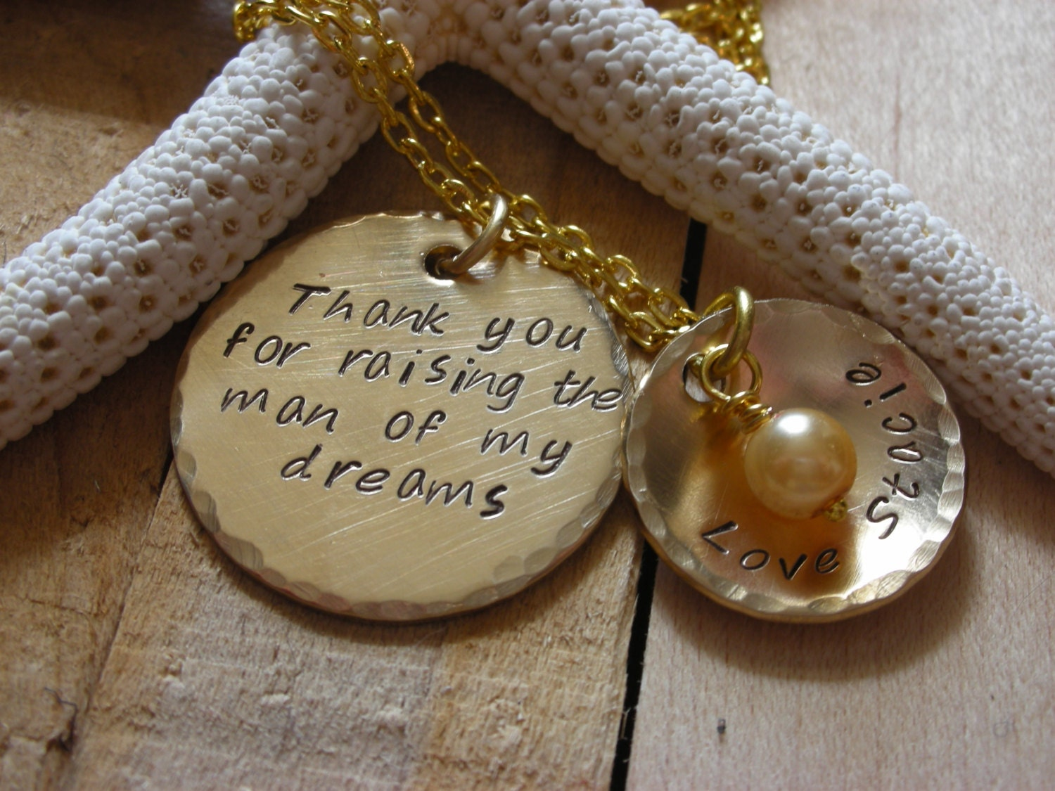 Wedding Gift For Mother In Law: Necklace Charm Mother In Law Gift-Daughter In Law Gift-Mothers