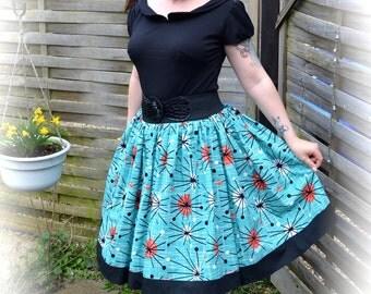 1950's style swing skirt 'Atomic' (custom made)