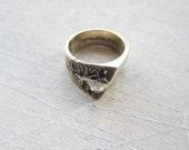 Bronze Upheave Ring, Size 6