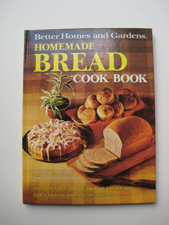 Better Homes And Gardens Cook Book Homemade Bread