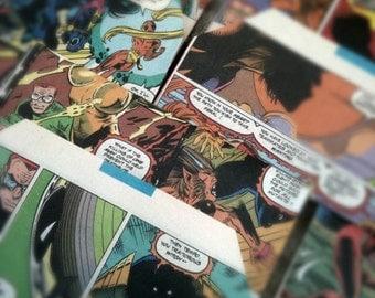 Geek Wedding Invitations / Comic Book Envelopes / Superhero Birthday Invitations - Set of 50