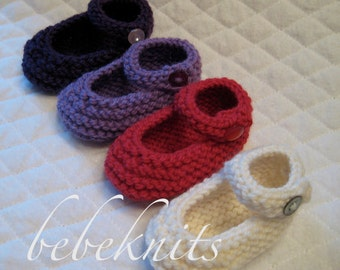 Newborn Party Janes Baby Shoes available in Four Colors