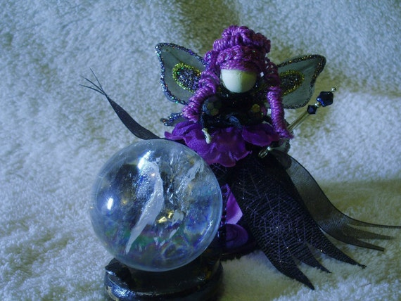 Fairy Gothmother Fairy Godmother Gothic Scary Fairy OOK Miniature ...