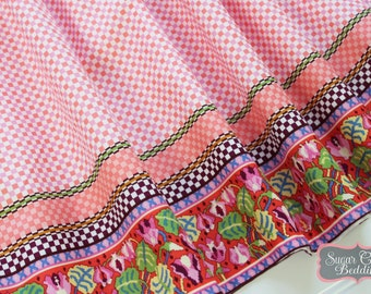 MAKAYLA Gathered Bed Skirt, ...Handmade at...Sugar Creek Bedding