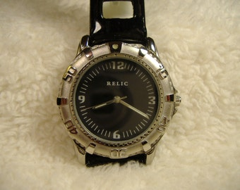 Vintage 1980s Relic Quartz Watch