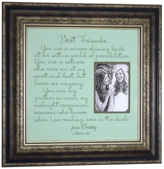 Best Friends Maid Of Honor Sisters By PhotoFrameOriginals On Etsy