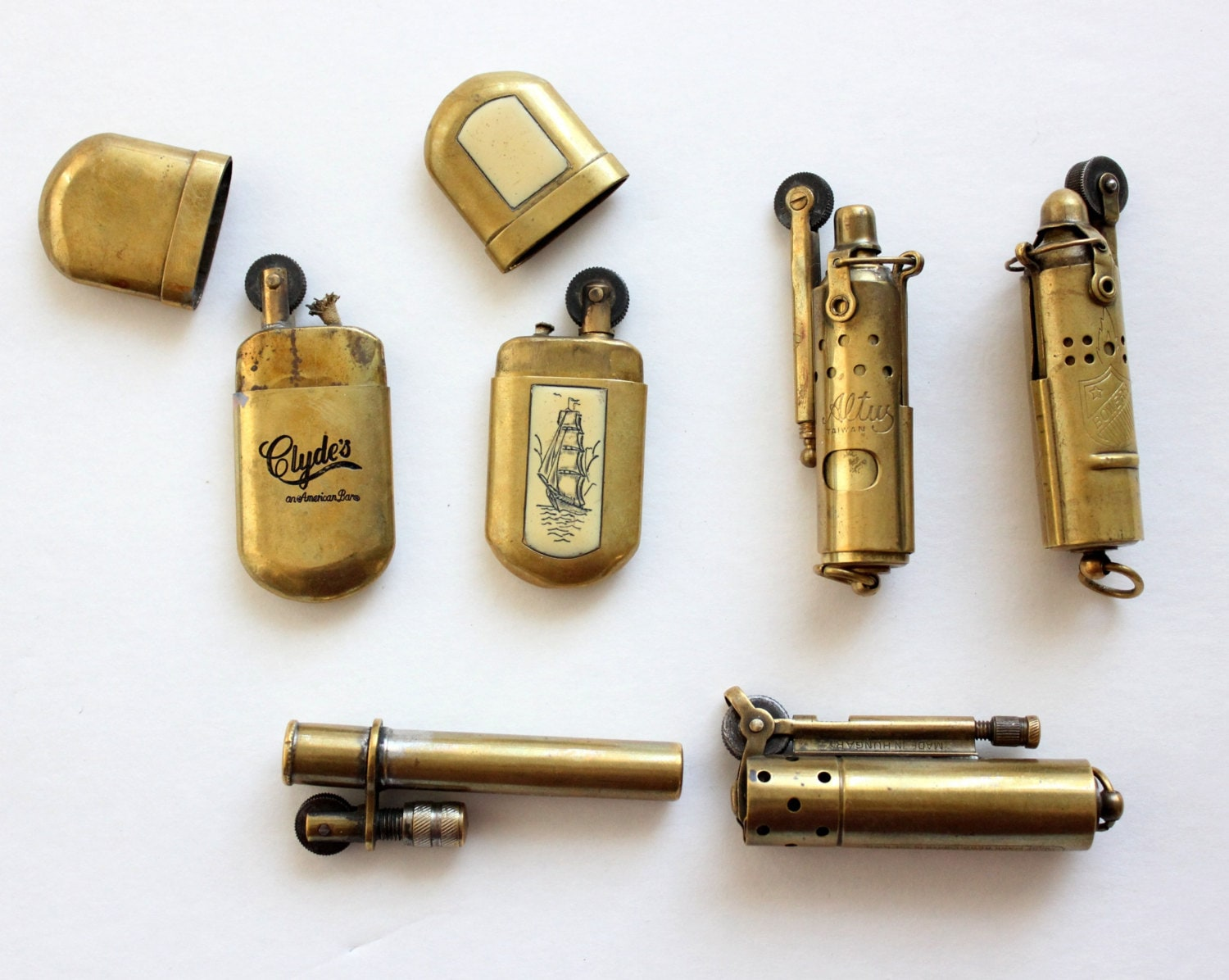 30 Off Vintage Trench Lighter Lot An Instant Collection