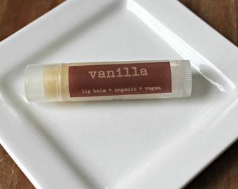 Vanilla Lip Balm, Vegan Lip Balm, Natural Lip Balm