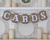 CARDS Banner for Weddings and Parties