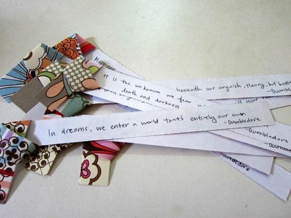 20 Jumbo Inspirational Origami Stars