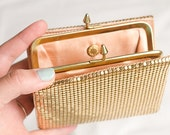 Duramesh vintage gold wallet - box included