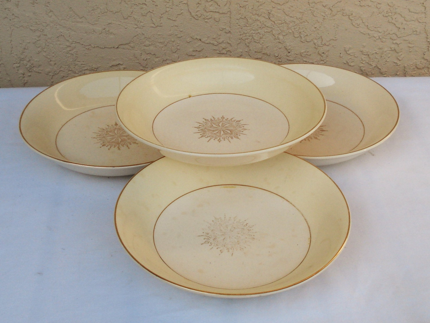 Vintage Paden City Pottery Pattern K 41 Soup Cereal Pasta