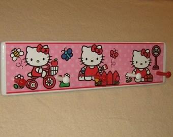 Kid's corner coat rack ( Hello Kitty )