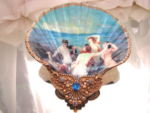 Sirens Of The Sea Shell Jewelry Dish