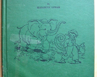 "Vintage Children's Book - ""Little Brown Monkey"""