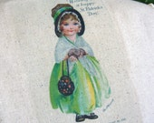 St. Patricks Day Tea Towel - Precious Irish Girl