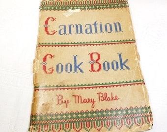 Carnation Cook Book - Mary Blake - Vintage - 1935, Carnation Milk Recipes, Vintage Cookbook