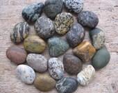 COLORFUL Beach Stone Cabinet Knobs Stone Drawer Pulls CUSTOM ORDERS w/ Stone Enhancer